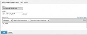 SAML - LDAP policy
